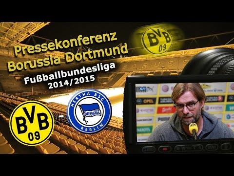 Borussia Dortmund - Hertha BSC; Bundesliga-Pk mit Jürgen Klopp