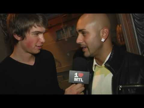 INTERVIEW w/ MASSARI LIVE @ CLUB SEVEN [Montreal]