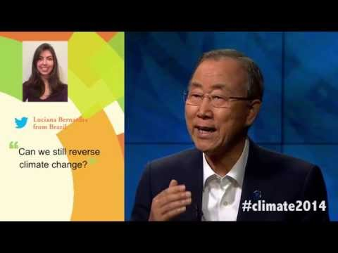 #Climate2014 questions for UN Secretary-General Ban Ki-moon - Twitter