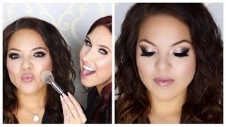 Classic Smokey Eye Tutorial On My Friend | Jaclyn Hill