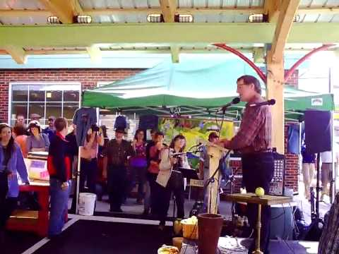 Dedication Floyd Community Market & SplitRail Eco Fair, Floyd Virginia , LCF Group