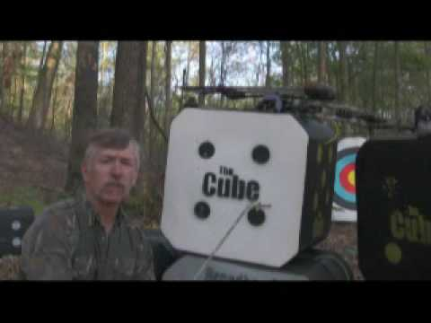 The CUBE archery target