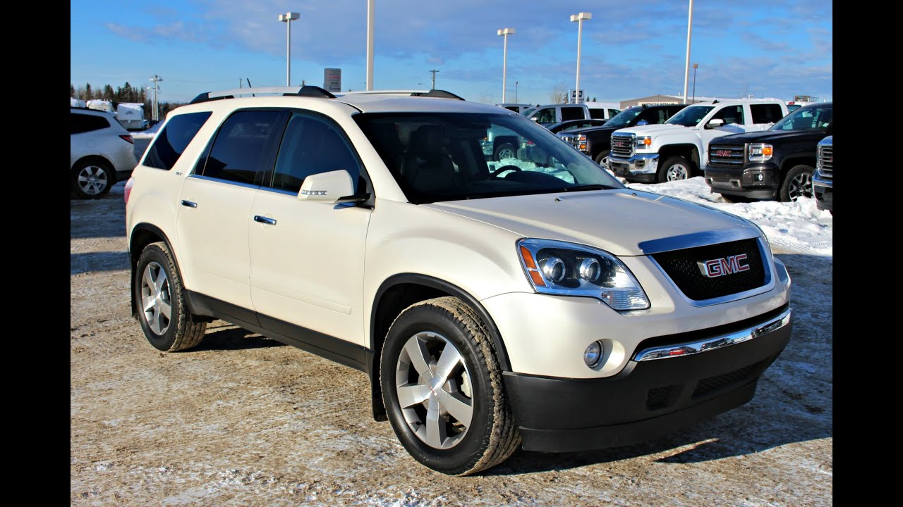 2010 gmc acadia in review red deer rocky mountain house alberta youtube