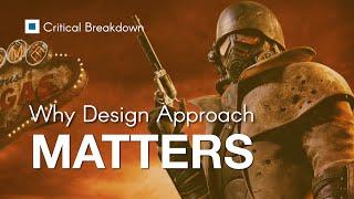 Bethesda Game Studios next to Obsidian Entertainment - Their Design Approach