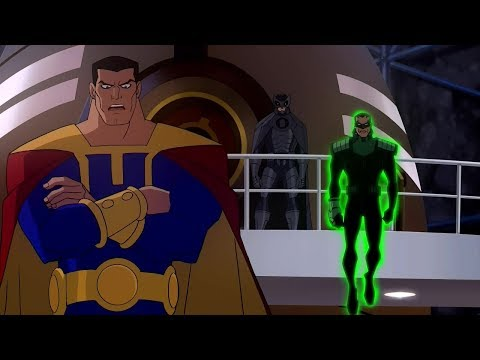 Justice League and Lex Luthor vs. Crime Syndicate!