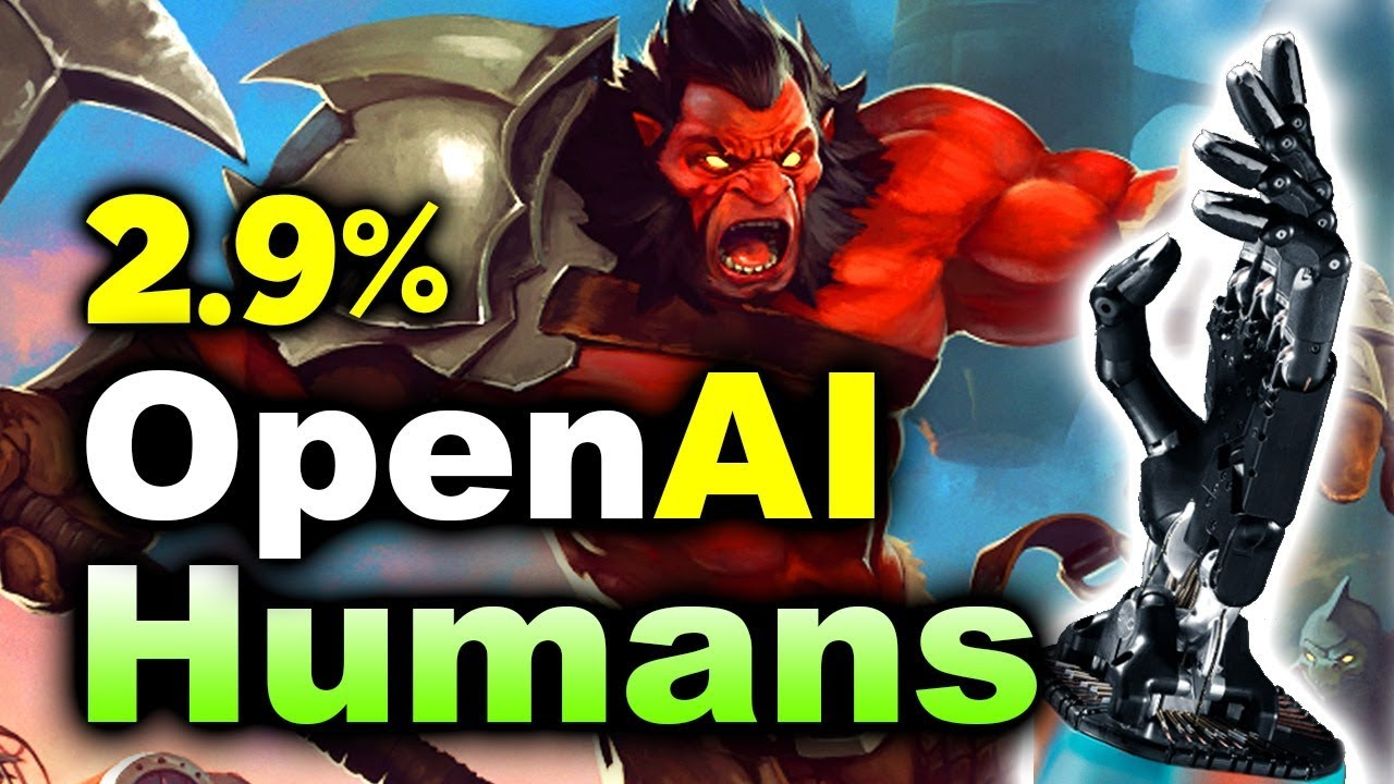 OpenAI vs HUMANS - FINAL SHOWMATCH - 2.9% CHANCE DOTA 2