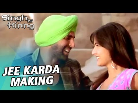 Making of Song Jee Karda- SINGH IS KINNG