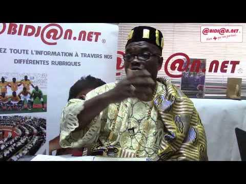 M. Eric Ané, commissaire général du festival Agni de Côte d'Ivoire en direct sur Abidjan.net Tv
