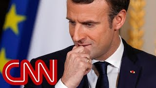 French president urges Trump to honor Iran nuclear deal