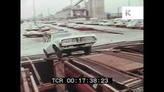 Late 1960s Detroit car manufacturing