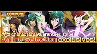 Bleach Brave Souls Anime Selection Summons 22 Summon