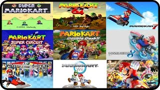 Mario Kart - All Courses from every Mario Kart (Multiplayer)
