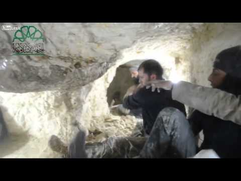 18+ Syrian Arab Army Detonate Zionist Al Nusra Sex Jihadist's Hq In Old Aleppo By Tunnel Bomb video