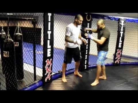 MMA Technique 1 Elbow from the Clinch ending whith take down.wmv Image 1