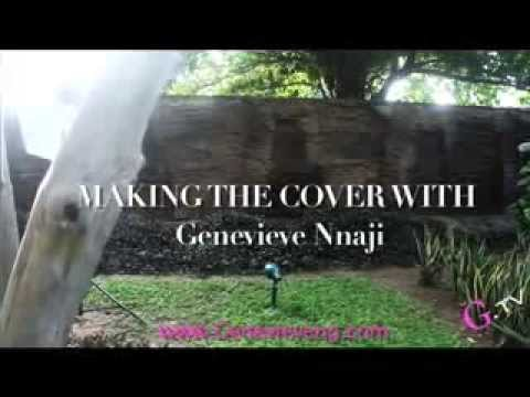 Nollywood Megastar Genevieve Nnaji! GENEVIEVE Magazine Cover Shoot 2013