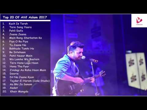 Atif Aslam Latest Songs 2017   Top & Best Songs of Atif Aslam Jukebox thumbnail
