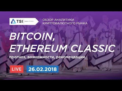 Bitcoin (BTC), Ethereum Classic (ETC) -прогноз, возможности | Прогноз цены на Биткоин и Криптовалюты