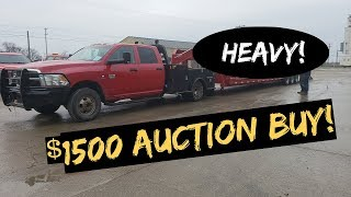 RAM 3500 Cummins handle Heavy Load ? + $1500 Auction BUY