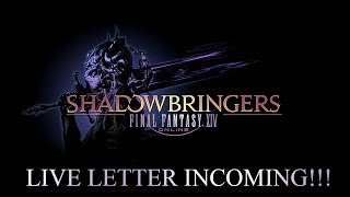 Chaos Discussion! Final Fantasy XIV SHADOWBRINGERS Live Letter LI INCOMING!
