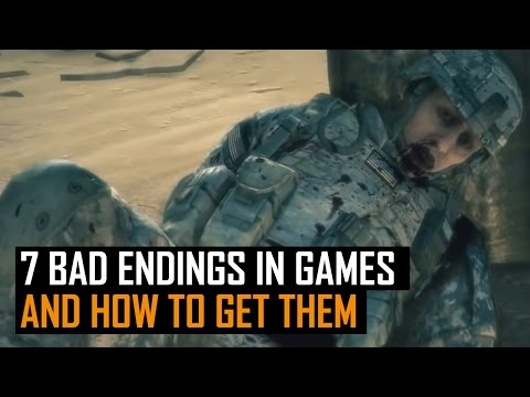 Top 7: Bad Endings In Games And How To Get Them