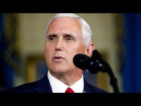 Health care bill debate vote is tie broken by Pence
