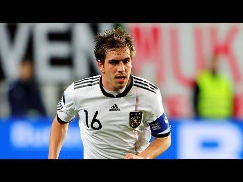 "Philipp Lahm - All Germany goals (2004-2014) ""Magic Dwarf"""