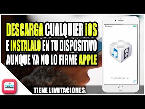 Instala cualquier version de iOS aunque no sea firmada | PROMETHEUS UPGRADE/DOWNGRADE TOOL