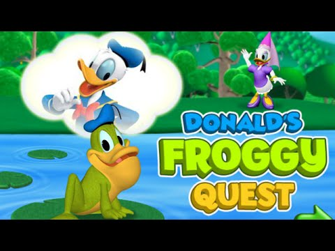 Donald's Froggy Quest Game - Mickey Mouse Clubhouse Full Episodes Games HD