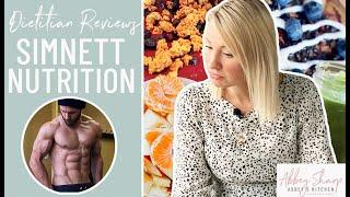 Dietitian Reviews VEGAN NUTRITIONIST Derek Simnett of Simnett Nutrition What I Eat In A Day