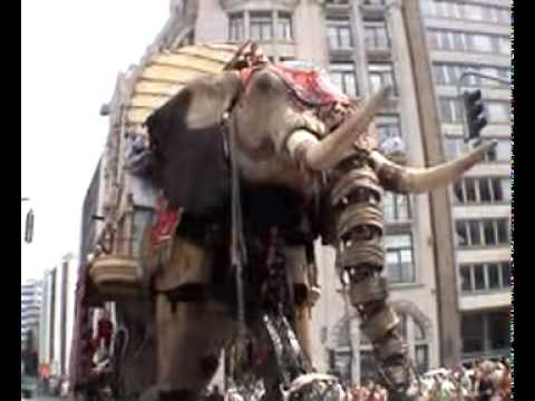 Giant ELEPHANT IN ANTWERP (ROYAL DE LUXE) FULL MOVIE!! (with sound)