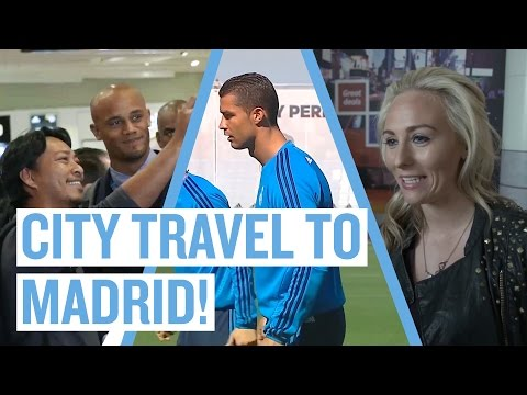 Manchester to Madrid | Real Madrid v Manchester City | Champions League Semi-Final
