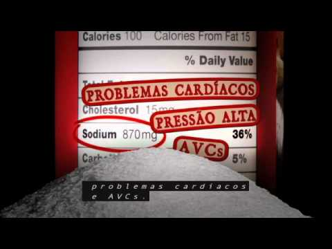 Sodium/Salt Reduction PSA in Portuguese