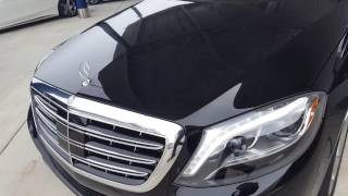 2016 Mercedes-Maybach S600 6.0L V12 Biturbo Super Cold Start With Reaction