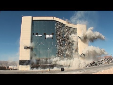 El Paso City Hall Implosion - Controlled Demolition, Inc.