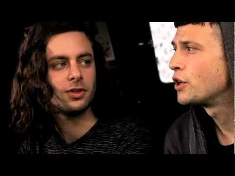 The Maccabees - Interview - Bestival, Isle of Wight, 2011 - Off Guard Gigs