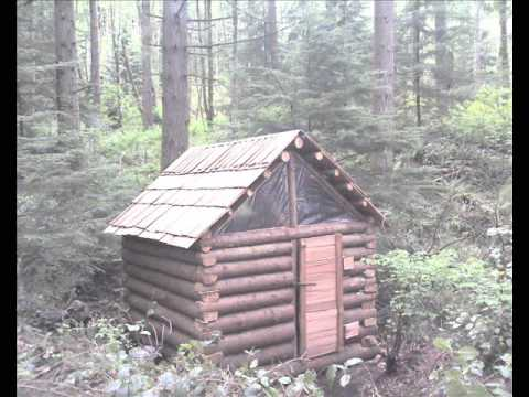 Owner Built Log Cabin