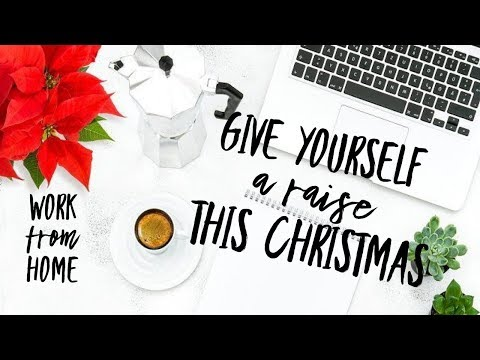 Give yourself a raise this Christmas / Work From Home opportunity