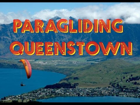 Paragliding in Queenstown, Otago, New Zealand