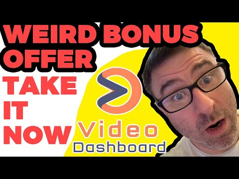 Video Dashboard Bonus | Best Video Dashboard Bonus