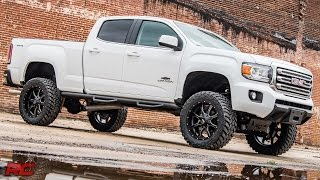 2016 Chevrolet Colorado and GMC Canyon Duramax Diesel 6-inch Suspension Lift Kit by Rough Country
