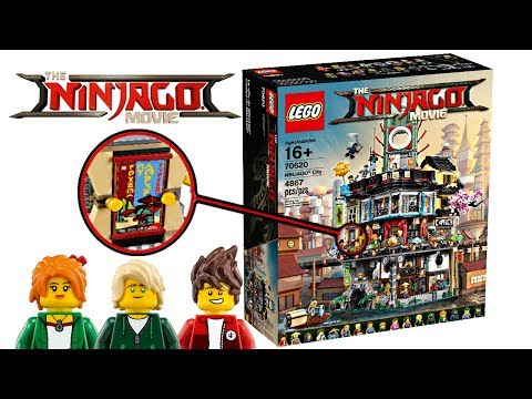 LEGO Ninjago Movie City - Set SECRETS + My Thoughts!