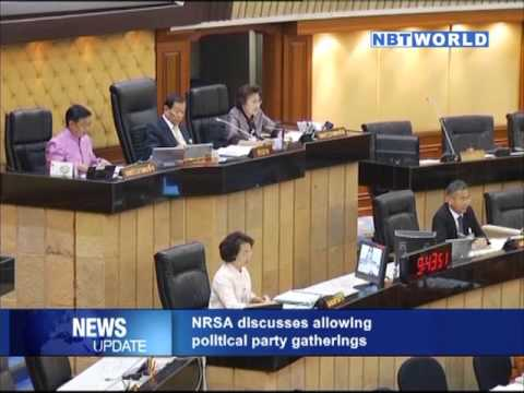 NRSA discusses allowing political party gatherings