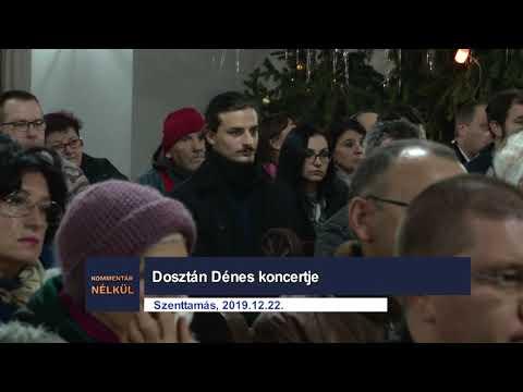 Dosztán Dénes karácsonyi koncertje - Pannon RTV