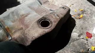 Restoration 1996 pontiac bonneville ssei superchared gas tank removal