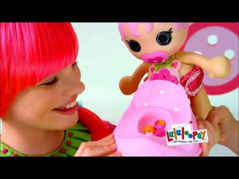 Smyths Toys - Lalaloopsy Babies Potty Surprise Jewel Sparkle Doll