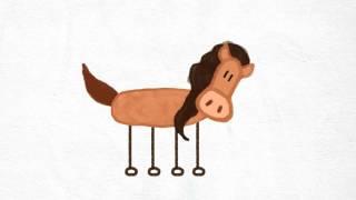 Paske - Pourquoi les chevaux ont une crinière ?