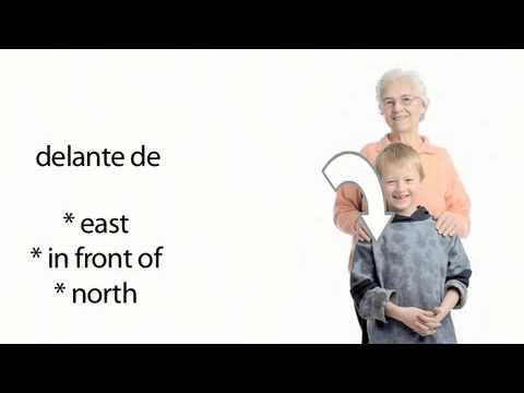 Aprender inglés 1.12 - Las direcciones por la ciudad