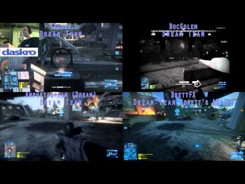 Battlefield 3 Match Commentary - Tehran Highway Dream Team Vs. Mornin' Glorin Part 1 of 2