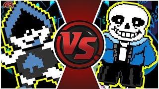 LANCER vs SANS! (Undertale vs Deltarune Animation) | Cartoon Fight Club Episode 289