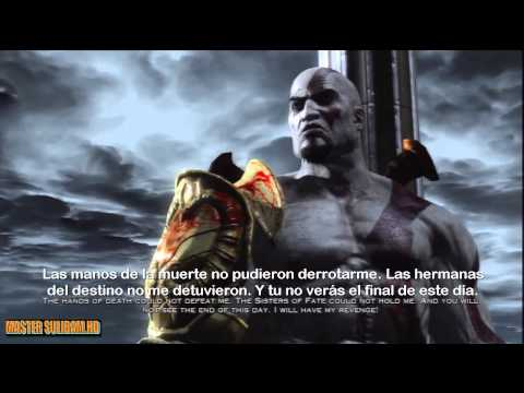 Dios de la guerra - God of war 3 Vs Poseidon Movie HD (Sub español) Part 4